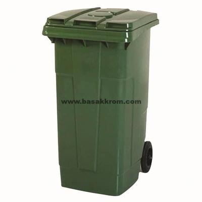 yeşil çöp kovası,tıbbi atık kovası,site içi çöp toplama kovası,120 lt çöp kovası